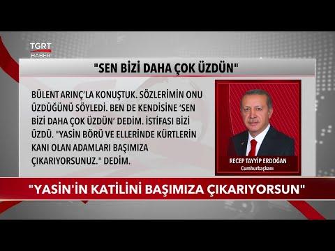 Cumhurbaşkanı Erdoğan, Bülent Arınç'la Görüşmesini Anlattı