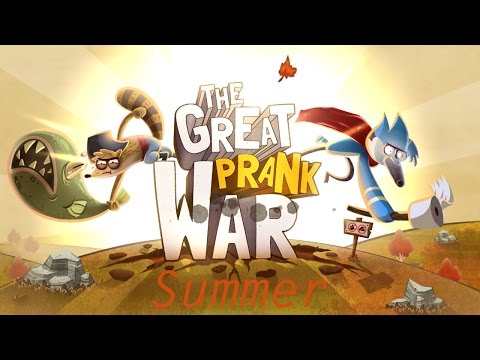 "The Great Prank War - Walkthrough - iOS / Android - ""Summer"""