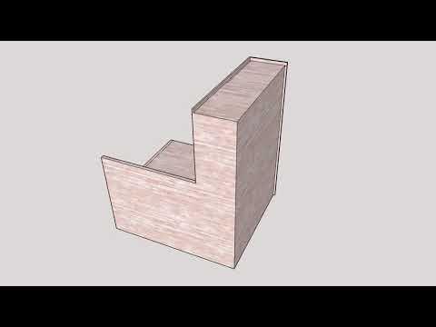 榻榻米 衣櫃 訂造傢俬 設計動畫