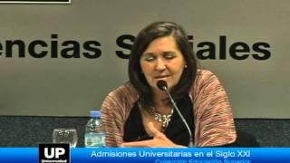 Presentación del libro: Admisiones universitarias en el siglo XXI - Parte4