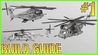 Lego Sikorsky CH-53E Super Stallion | INSTRUCTIONS | (Part 1/4) | Minifig Scale 2017