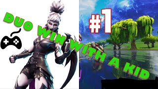 Getting that win! (Casual Duo Game) || Fortnite: Battle Royale