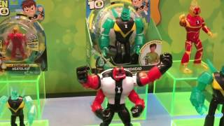 NYTF 2017   Playmates Toys Ben 10 Video Interview & Walkthrough(Take a tour at the Playmates Toys booth at New York ToyFair checking out thier Ben 10 action figure and toyline coming out in 2017. Images ..., 2017-02-21T03:25:29.000Z)