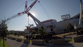 Liebherr LTM 1400-7.1 Moving onsite(, 2017-08-10T03:09:22.000Z)