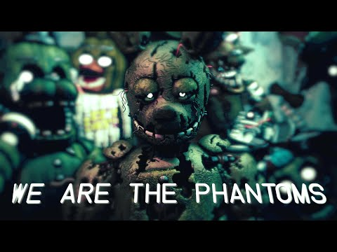 "FNAF 3 SONG | ""We Are The Phantoms"" [Remix/Cover] (feat. CG5 & Swiblet) - Axie"