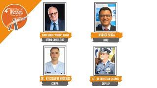 4ºWorkshop | Gianfranco Beting, Wagner Souza, Cel. Av Cesar de Medeiros e Cel. Av Chrystian Ciccacio