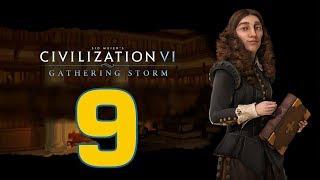 Прохождение Civilization 6: Gathering Storm #9 - Нужно больше золота [Швеция - Божество]