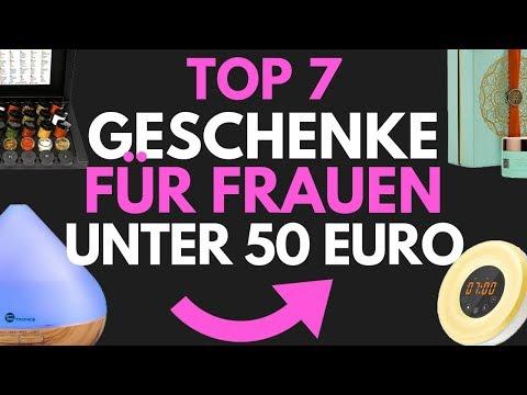 Weihnachtsgeschenke für Frauen/ Geschenkideen für unter 50 Euro - TOP 7 Geschenke - 2018