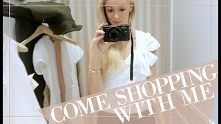 COME SHOPPING WITH ME FOR SPRING FASHION // Fashion Mumblr