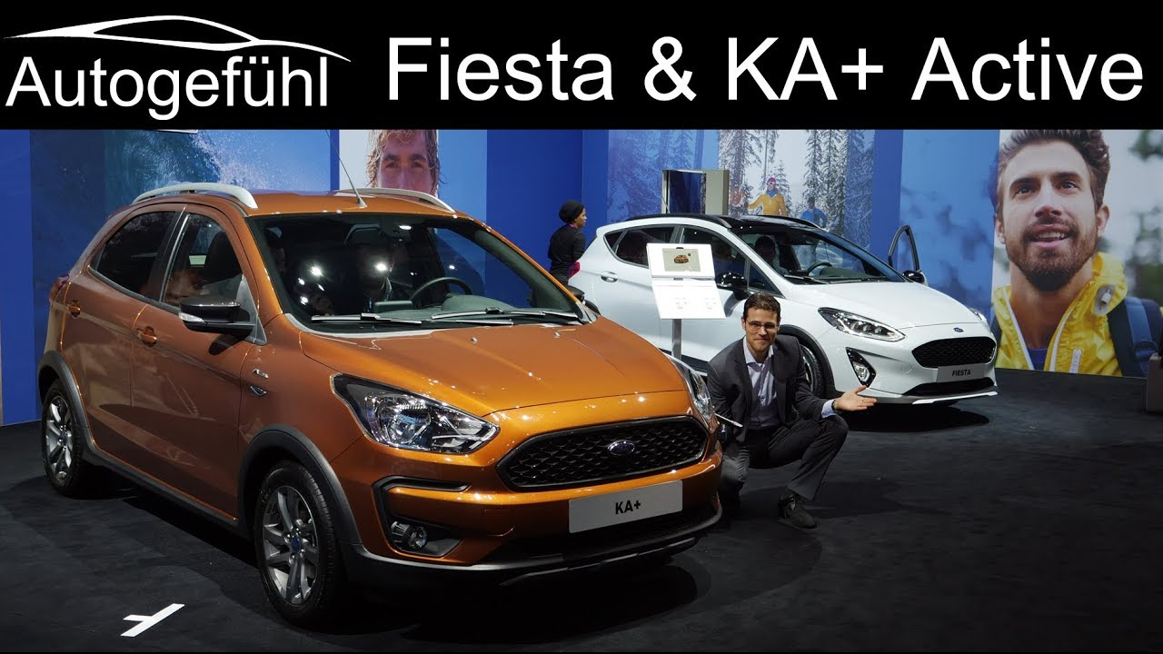Ford Fiesta Active Vs Ford Ka Active Comparison Review Autogefuhl