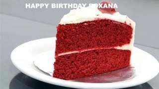 Roxanaespanol Roxana pronunciacion en espanol Cakes Pasteles - Happy Birthday