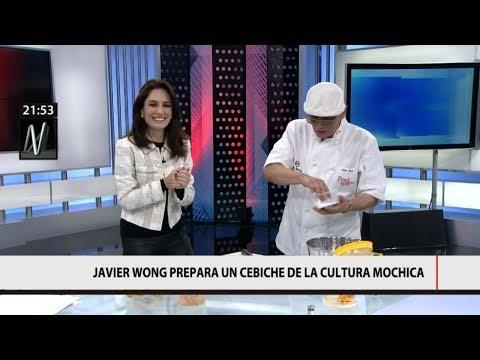 20][17 Javier Wong prepara cebiche mochica y trolea dos veces a Mávila Huertas