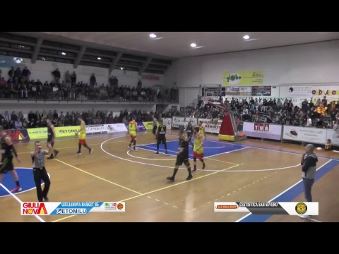 LNP Serie B 17/18 Giulianova Basket 85 VS Allianz Pazienza Cestistica San Severo