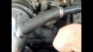 1997 Ford Expedition 5.4L V8 Triton Engine Coolant Temperature ECT Sensor Location