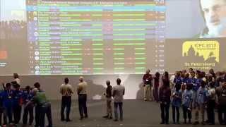 acm icpc world finals 2013 closing ceremony