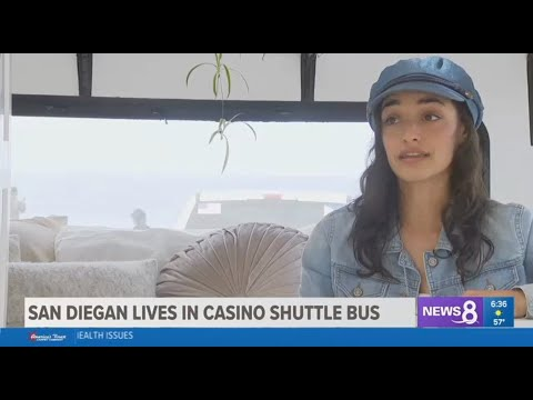 San Diegan Lives In Casino Shuttle Bus - Channel 8 News San Diego CBS