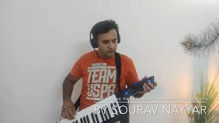 Instrumental cover of beautiful Shabad by 'Diljit Dosanjh' - 'Aar Nanak Paar Nanak' played by Sourav Nayyar on Keytar. Credits for parts of background track ...