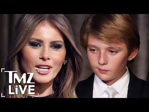MELANIA TRUMP Threatens Suit Over False Barron 'Autism' Video (TMZ Live)