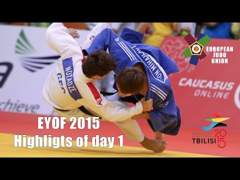 EYOF: Highlights of day 1