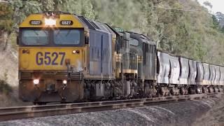 Australian locomotives in 8th notch