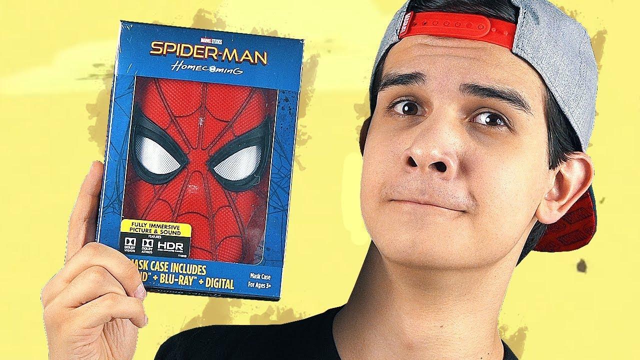 ШОК!!Как сделать маску человека-паука своими руками из бумаги .