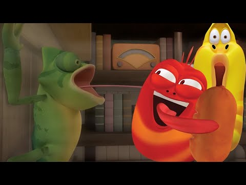 LARVA - THE MYSTERY THIEF | Cartoons | Comics | LARVA Official from YouTube · Duration:  30 minutes 36 seconds