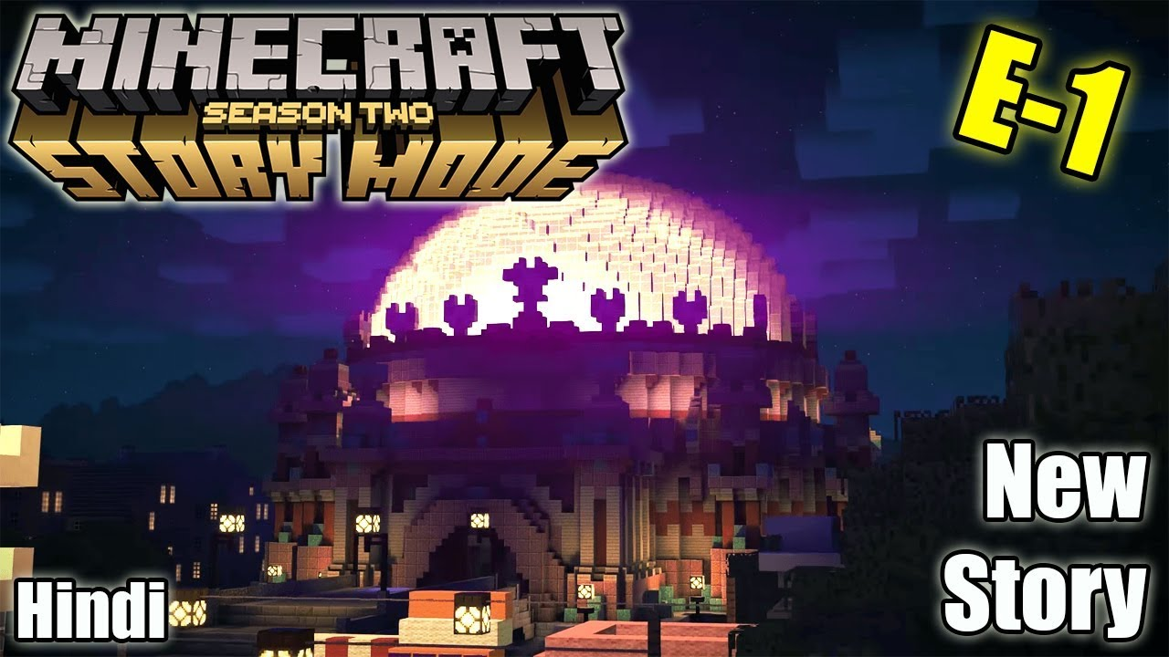 😋 Our new journey Begins    Minecraft Storymode S2/E1    - 🔴Hindi India Live Stream🔴Join ₹29/-