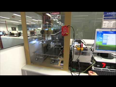 2014 QUT Biofabrication masters degree - 3D printed body part implants - 7 News