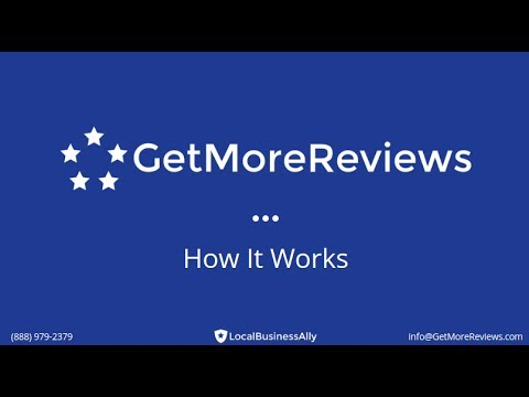 Local Business Ally | GetMoreReviews Overview