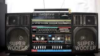 Repeat youtube video TOBISHI P-2000 80's Boombox Ghettoblaster ラジカセ