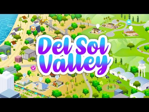 DEL SOL VALLEY DISAPPOINTMENT? TINY WORLD WITH ONLY 11 LOTS!?// THE SIMS 4 GET FAMOUS | NEWS & INFO thumbnail