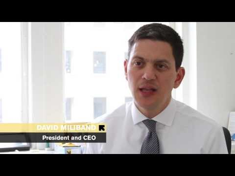 David Miliband, President International Rescue Committee