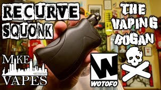Recurve Squonk 21700 | Mike Vapes X WOTOFO | Vaping Bogan