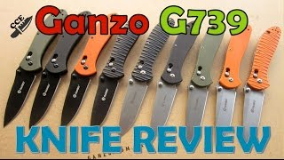 🔪Review: Ganzo G739. Might Be The Best Kept Secret in Budget Knives!!  Get one. NO, get TWO!!