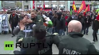 Germany: Fighting breaks out at Cologne anti-Islam demo