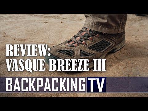 New Vasque Footwear Breeze III GTX Hiking Boot Review