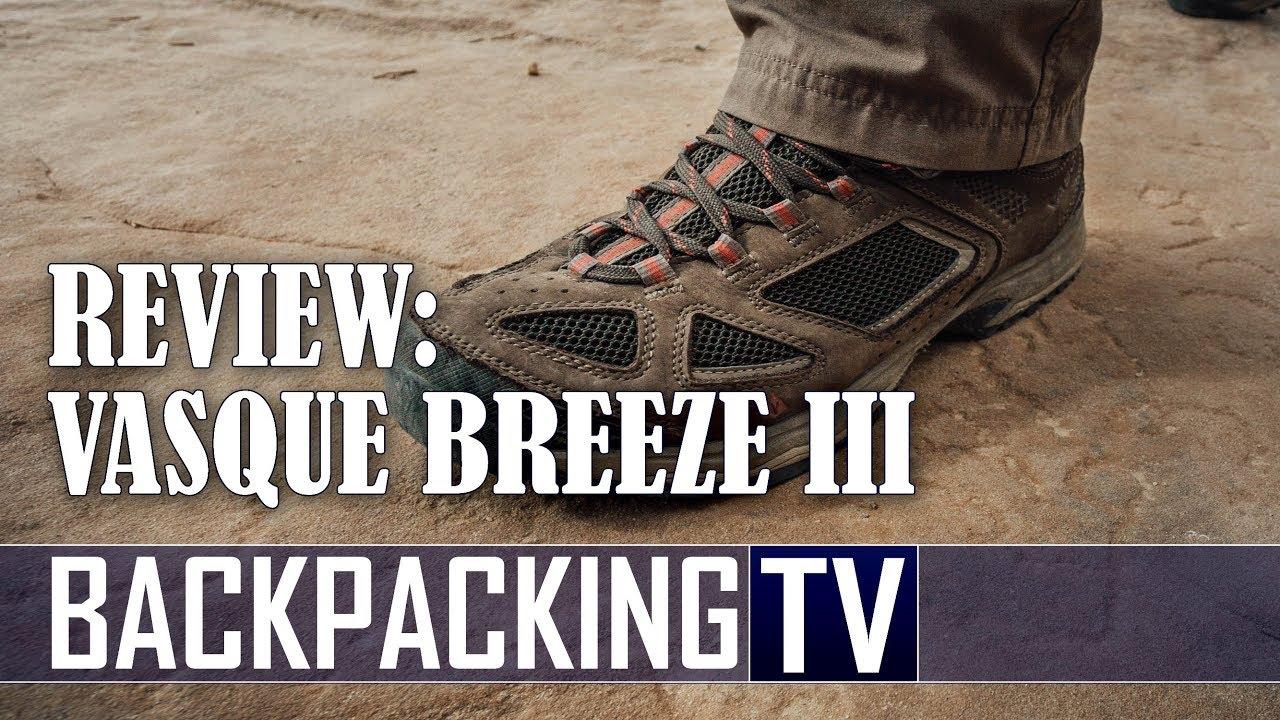 410d7aa7814 New Vasque Footwear Breeze III GTX Hiking Boot Review