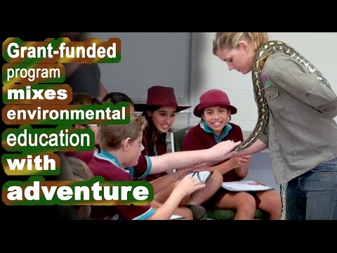 Grant-funded program mixes environmental education with adventure