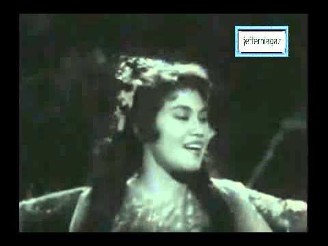 OST Musang Berjanggut 1959 - Jangan Adik Angan2 - P Ramlee, Rahmah Rahmat