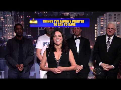 David Letterman's Final