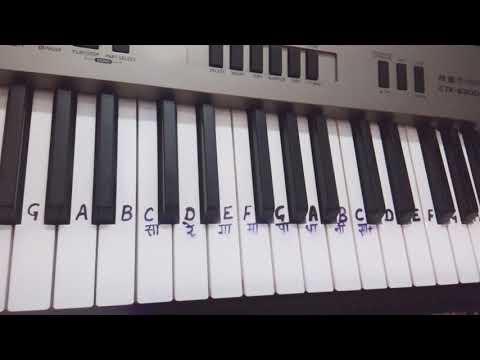 Ek Pardesi Mera Dil Le Gaya|Keyboard Cover|Keyboard Tutorial|piano|easy |slow