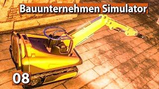 BAUUNTERNEHMEN SIMULATOR 🏗️ DACH abreißen ► #8 Demolish And Build 2018 deutsch