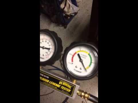 Leak down test of ej20 recieved from JDM engine depot of ke
