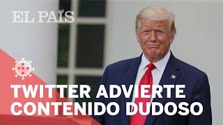 Twitter advierte que INFORMACIÓN de Donald Trump es INCORRECTA