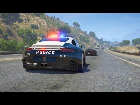 LSPDFR - Day 678 - Police Porsche 911 Pursuit Edition