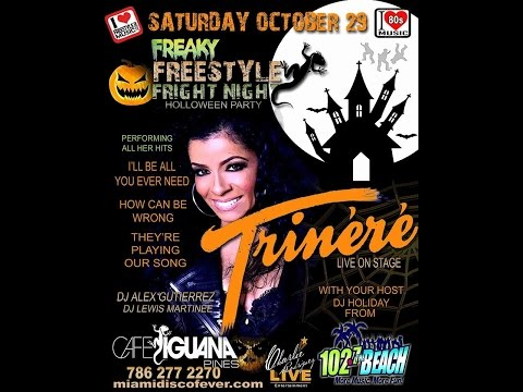Freaky Flashback Halloween Concert with Freestyle Diva Trinere Charlie Rodriguez Live