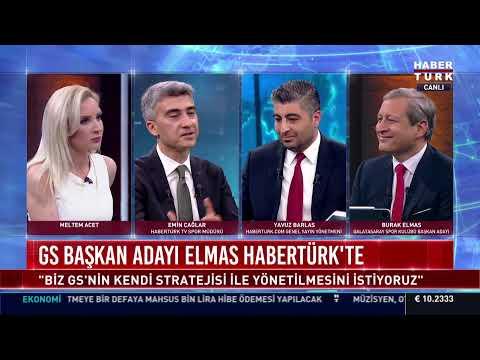 Galatasaray Başkan Adayı Burak Elmas Habertürk TV'de
