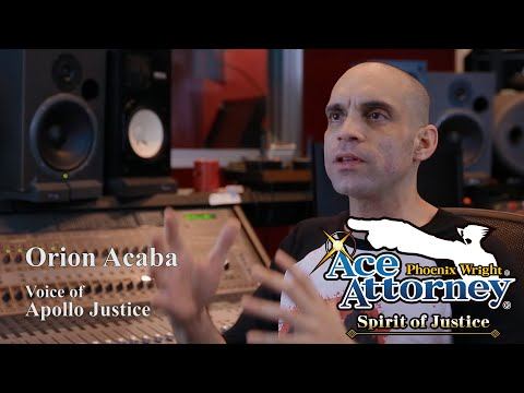 The Voices of Ace Attorney: Orion Acaba as Apollo Justice