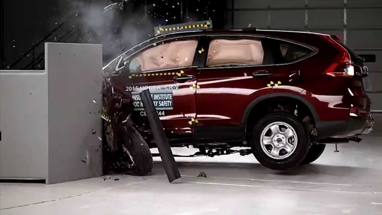 Cr v 2015 crash test autos post for Iihs honda crv