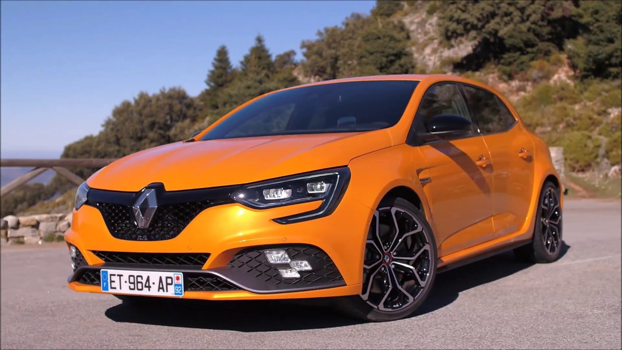 pr sentation renault megane 4 rs 280 sport edc orange. Black Bedroom Furniture Sets. Home Design Ideas